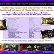 40th Anniversary Tour Schedule