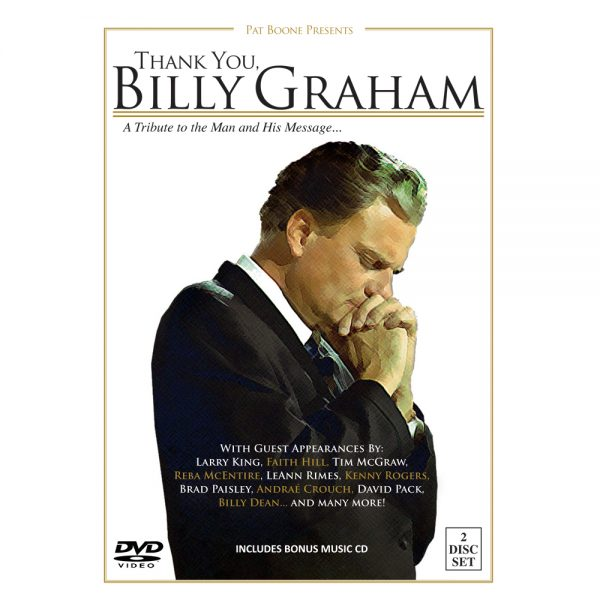 82009 Pat Boone Thank You, Billy Graham