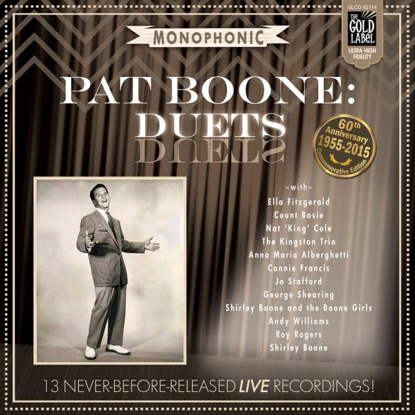 82114 Pat Boone Duets Commemorative Edition CD