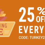 Thanksgiving Sale Sidebar