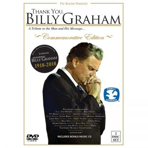 Thank You, Billy Graham ~Commemorative Edition~    1918-2018