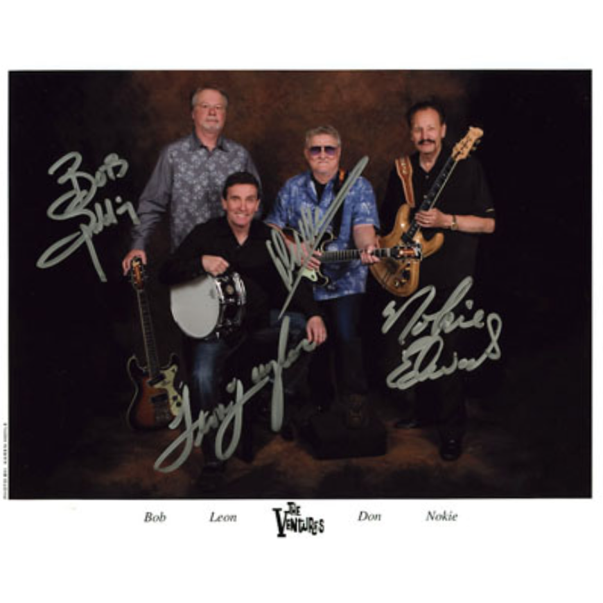 The Ventures 8x10 (Color) - Autographed