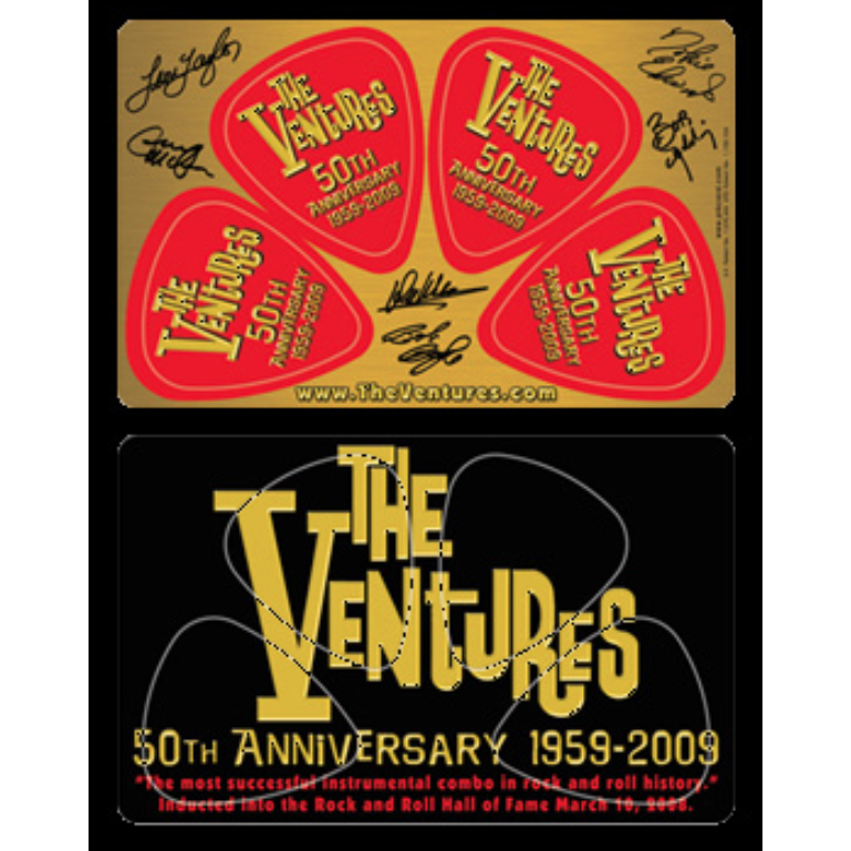 The Ventures 50th Anniversary PickCard
