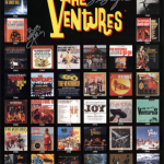 V00005 The Ventures Album Cover Poster – Autographed