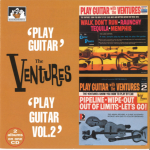 "V00010 The Ventures 2 Albums on 1 CD ""Play Guitar"" : ""Play Guitar Vol. 2"""