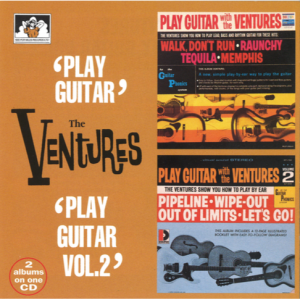 "The Ventures 2 Albums on 1 CD ""Play Guitar"" / ""Play Guitar Vol. 2"""