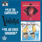 "V00013 The Ventures 2 Albums on 1 CD ""Play the Carpenters"" : ""The Jim Croce Songbook"""