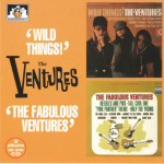 "V00014 The Ventures 2 Albums on 1 CD ""Wild Things"" : ""The Fabulous Ventures"""