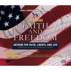 Faith and Freedom - (Anthem for Faith, Liberty, and Life) CD/DVD