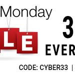 Cyber Monday Sidebar