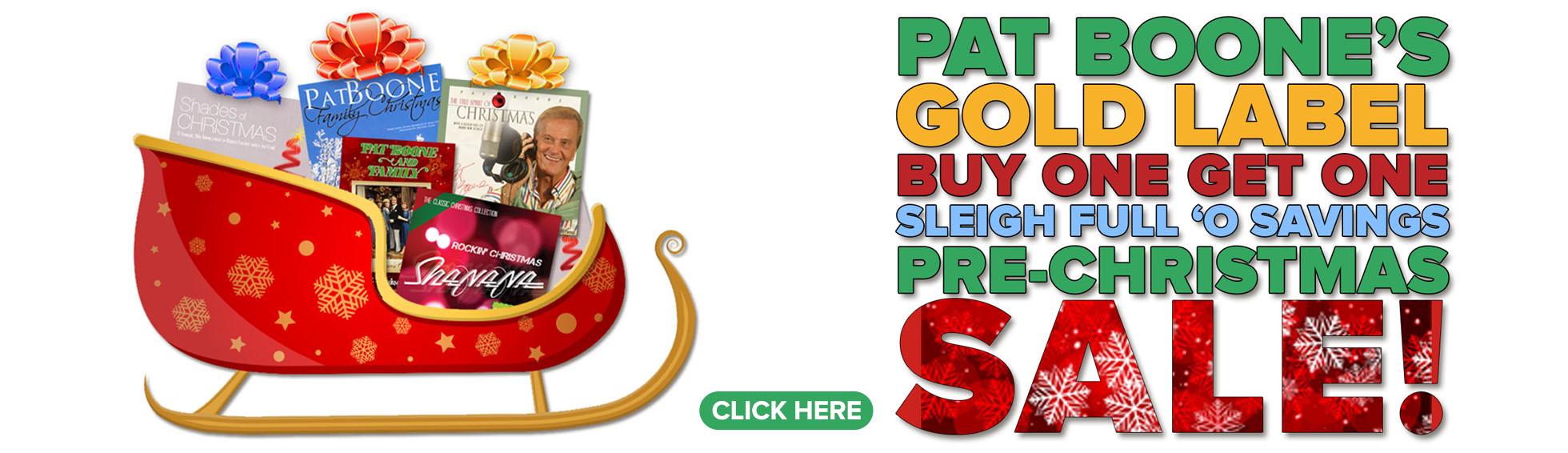 BOGO Pre-Christmas Sale